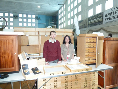 drawers, entomological cabinets, unit trays, entomological and musuem equipment
